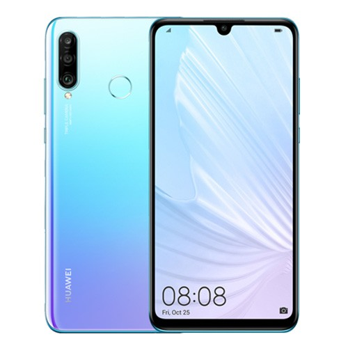 "Huawei P30 Lite New Edition Smartphone: 6.15"" inch - 6GB RAM - 128GB ROM - 48MP+8MP+2MP Triple Camera - 4G - 3340mAh Battery"