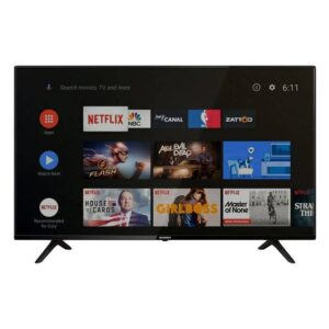 "Skyworth 32E10 - 32"" Super Narrow Google Android Smart LED TV - Black"