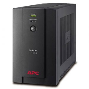APC Back-UPS 1400VA (BX1400U-MS): 230V, AVR, Universal and IEC Sockets