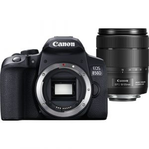 Canon EOS 850D DSLR Camera and EF-S 18-135mm f/3.5-5.6 IS USM Lens