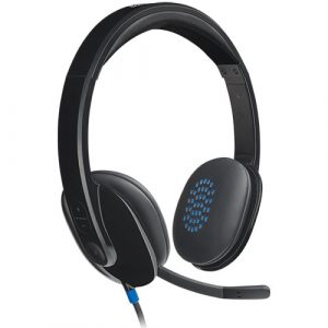 Logitech H540 USB Computer Headset with Noise Cancelling Mic
